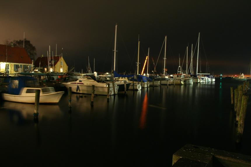 "фото ""Boats in nigth"" метки: пейзаж, вода, ночь"
