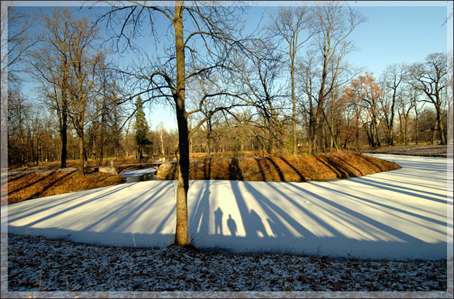 """photo """"A Landscape with the Family"""" tags: landscape, winter"""