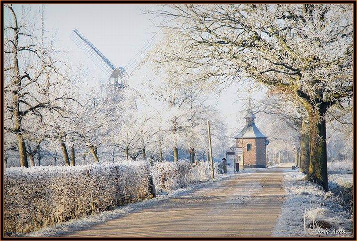 """фото """"one real cold day"""" метки: пейзаж, архитектура, зима"""