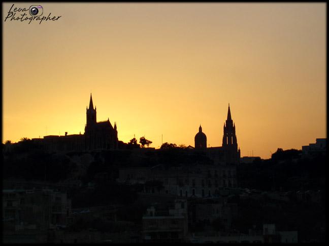 "photo ""Sunset on Malta..."" tags: travel, Europe"