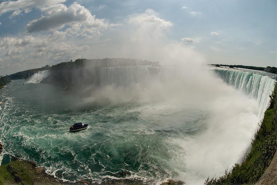 """фото """"Весь Ниагарский водопад"""" метки: пейзаж, вода"""