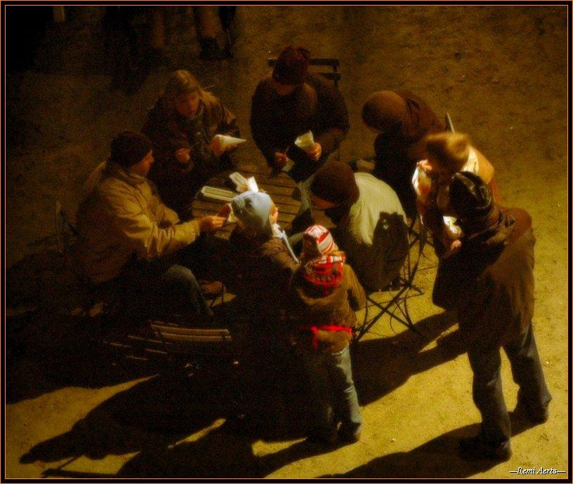 "photo ""Belgian frites diner"" tags: portrait, travel,"