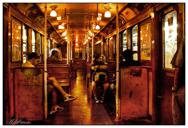 "photo ""Метро линия А (Argentina)"" tags: city,"