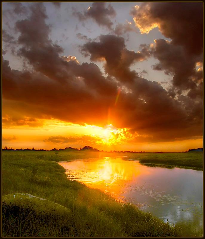 """фото """"Разгар лета"""" метки: пейзаж, закат"""