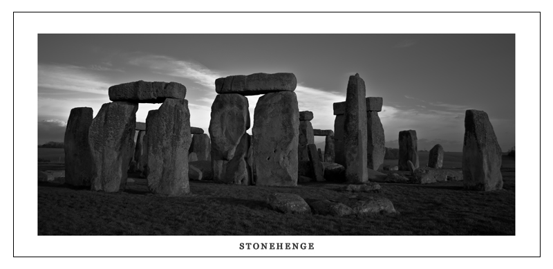 "photo ""Postcard ""Stonehenge:"" tags: landscape, travel, Europe"