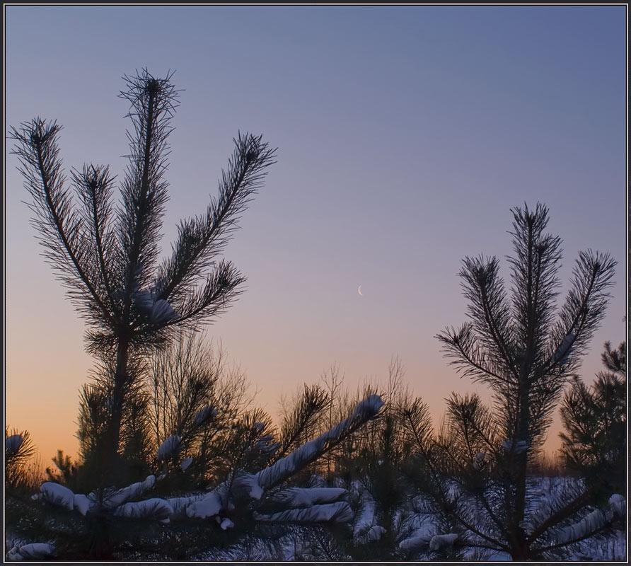"photo ""Before the Sunrise"" tags: landscape, sunset"