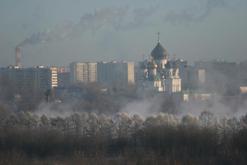 """фото """"И дым отечества так сладок и приятен!"""" метки: архитектура, пейзаж, зима"""