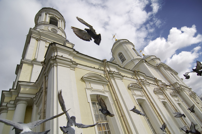 "фото ""Голуби Князь-Владимирского собора"" метки: город,"
