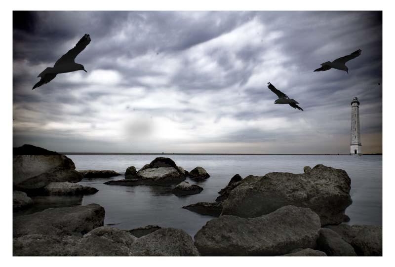 "фото ""out on the sea"" метки: пейзаж, вода"