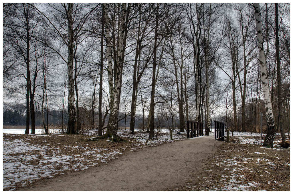 "photo ""one way"" tags: landscape, winter"