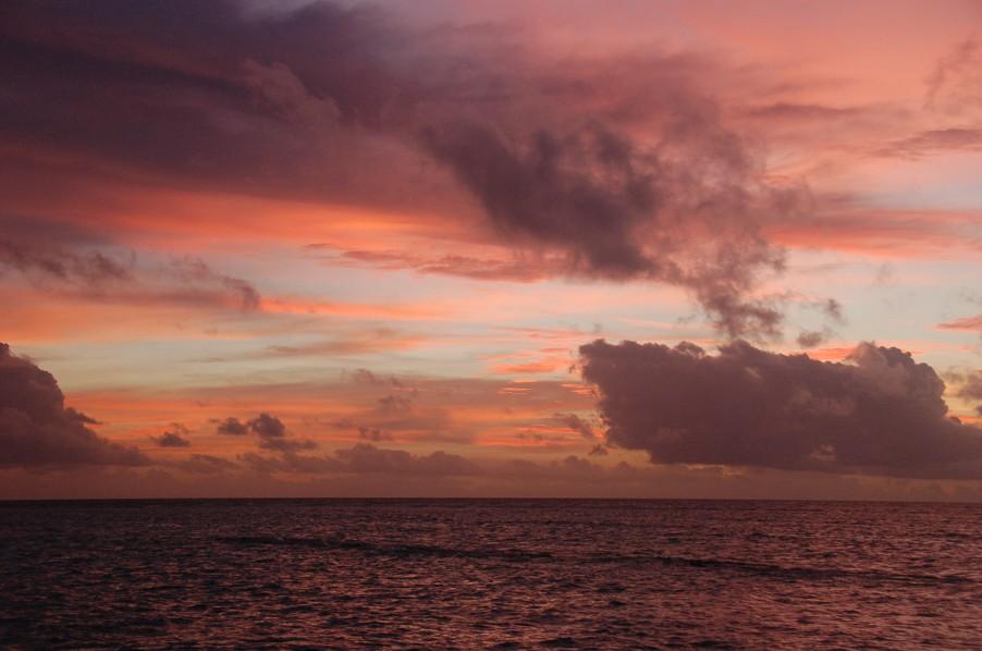 """фото """"Пароход плывет..."""" метки: пейзаж, облака"""