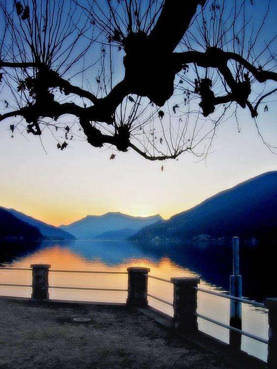 """photo """"Sunrise"""" tags: landscape, sunset"""