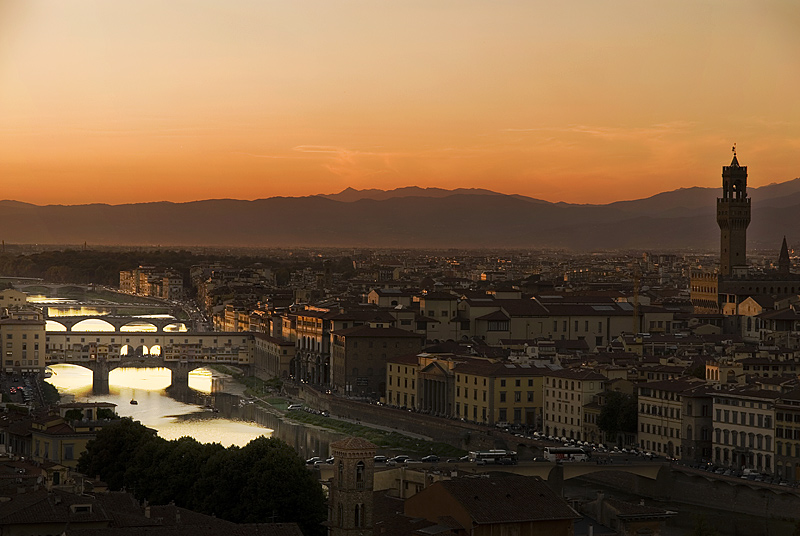 "photo ""Sunset in Florença"" tags: travel, Europe"