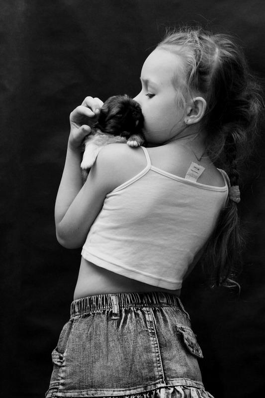 """фото """"Детское счастье"""" метки: черно-белые, портрет, дети"""