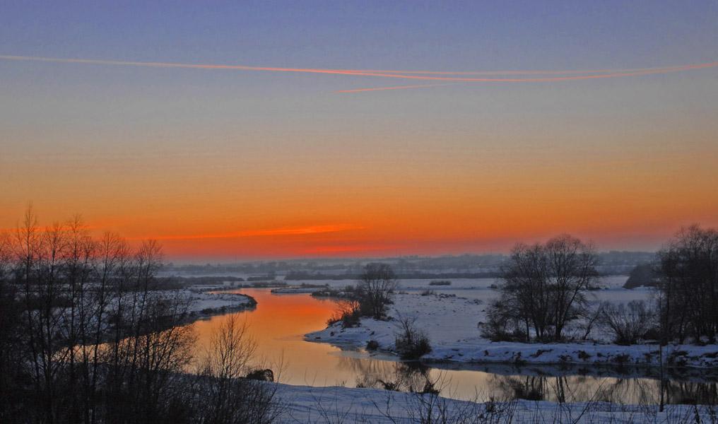 """фото """"Крещенская река"""" метки: пейзаж, вода"""