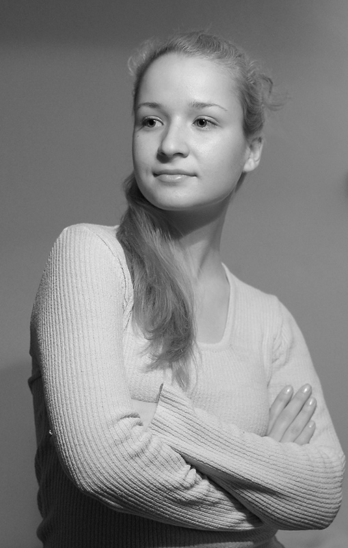 "photo ""My sister 2"" tags: portrait, woman"