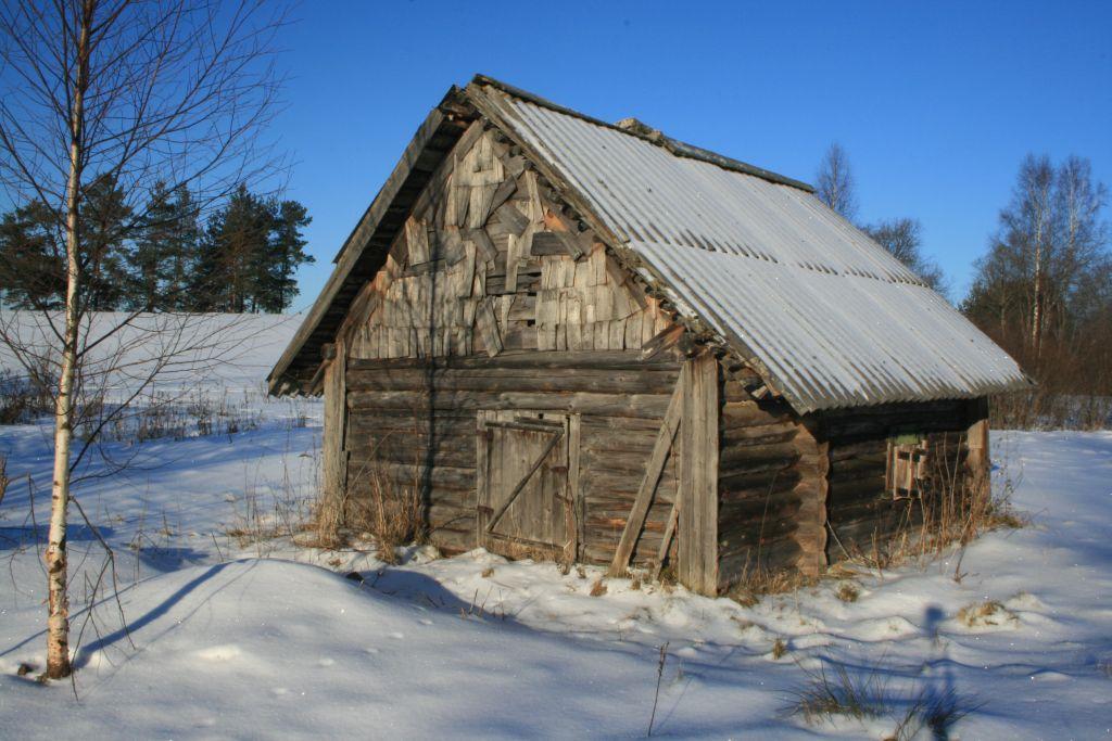 "фото ""Избушка"" метки: пейзаж, зима"