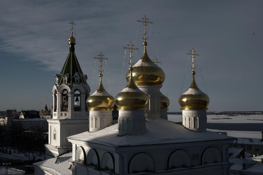 "фото ""Зима... ночь"" метки: архитектура, пейзаж,"