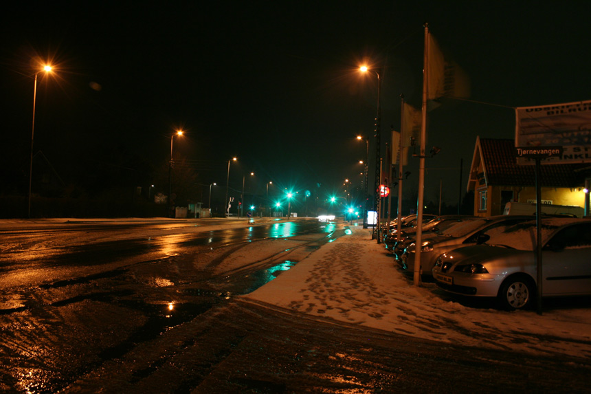 "photo ""Snow"" tags: landscape, night, winter"