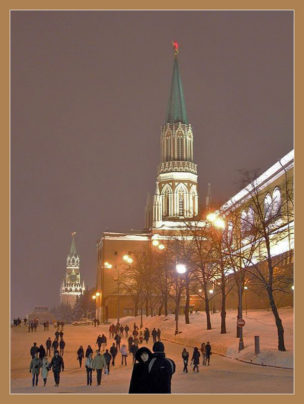 "photo ""The Moscow walks."" tags: city, architecture, landscape,"