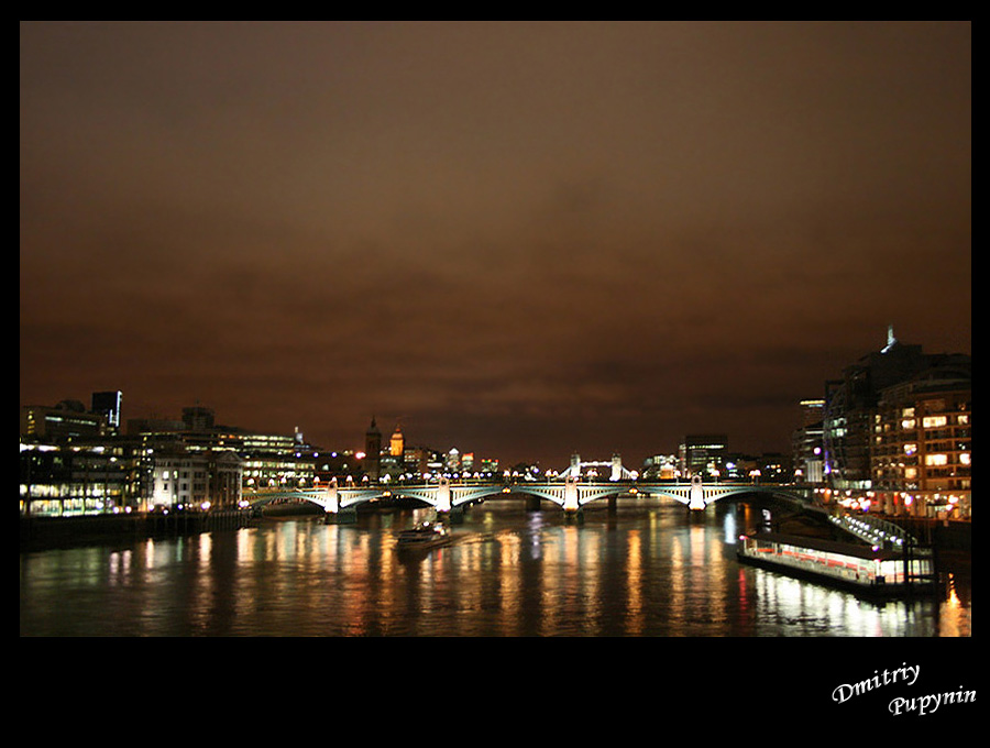 "фото ""Thames"" метки: пейзаж, вода, ночь"