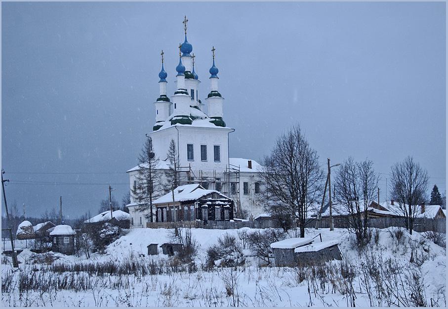 """фото """"Новый год в Тотьме # 2"""" метки: архитектура, пейзаж,"""