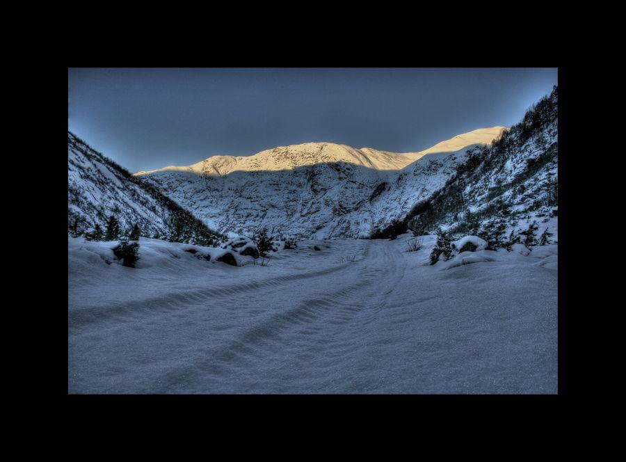 """фото """"Sunndalen"""" метки: пейзаж, горы"""