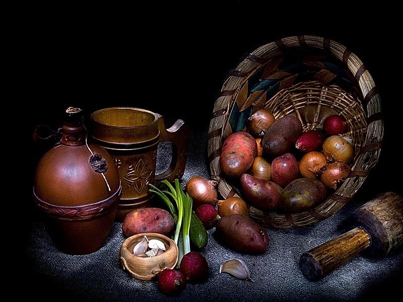 "фото ""Овощной натюрморт"" метки: натюрморт,"