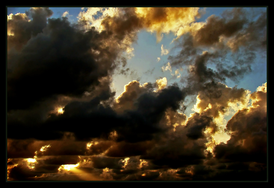 "photo ""Light among clouds..."" tags: landscape, sunset"