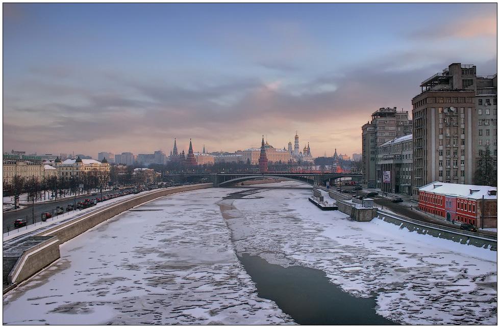 """фото """"Морозное утро"""" метки: пейзаж, город, зима"""