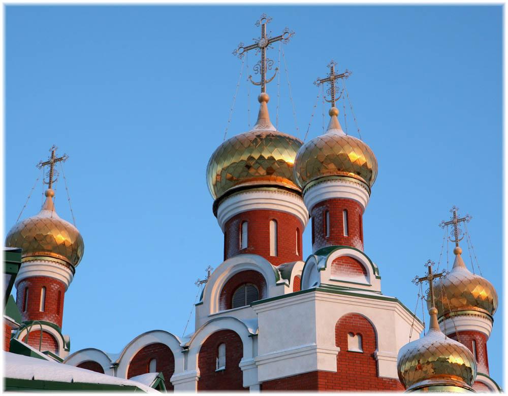 """фото """"Купола на Рождество"""" метки: архитектура, пейзаж,"""