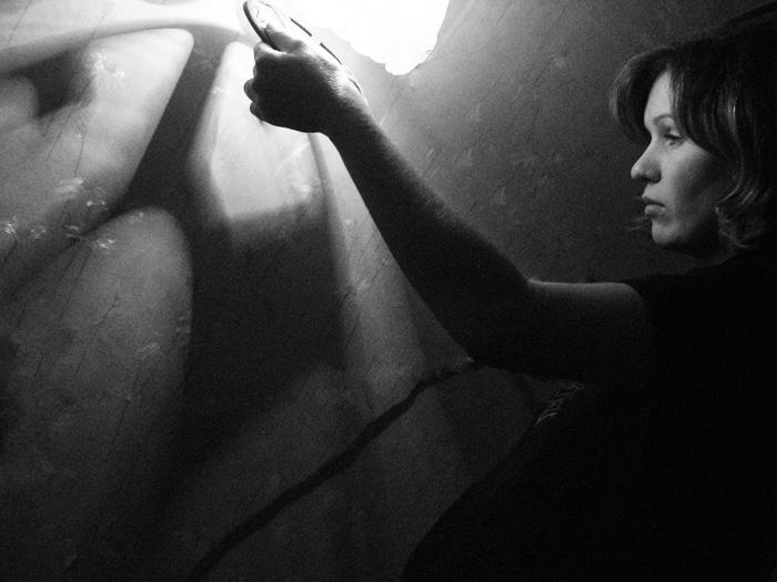 """фото """"управление тенью...."""" метки: черно-белые, портрет,"""