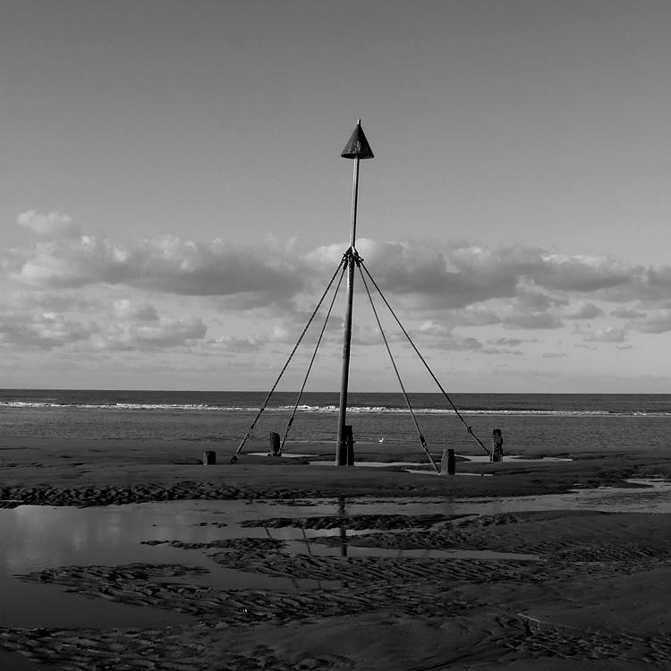 """фото """"Prestatyn, Wales"""" метки: пейзаж, черно-белые,"""