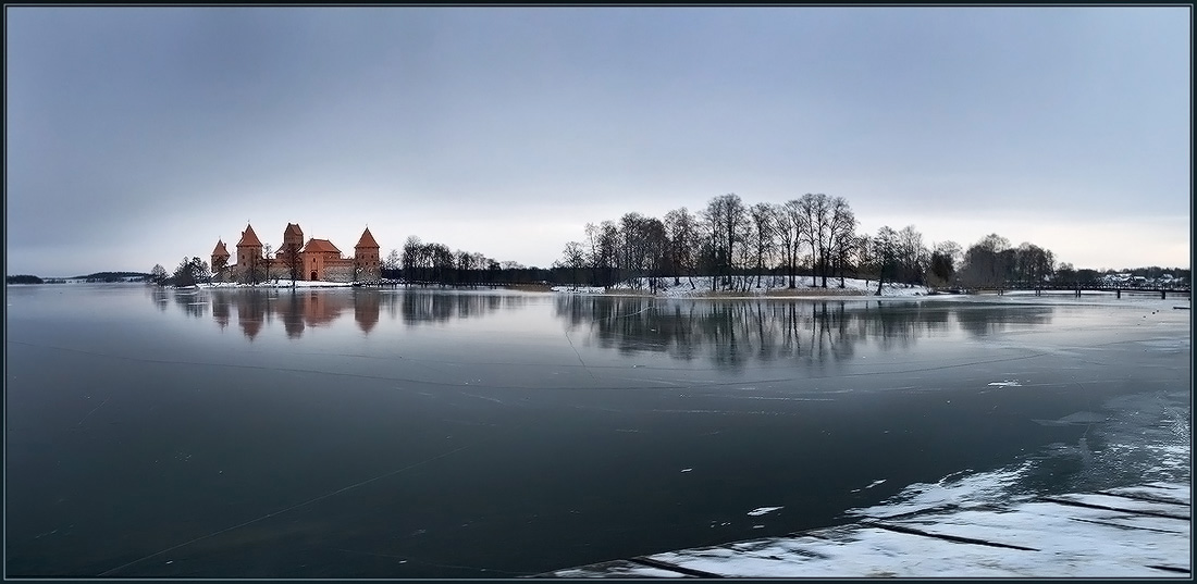 "photo ""Ice empire."" tags: panoramic, landscape, winter"