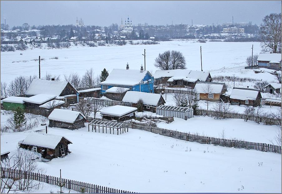 """photo """"Winter Russia"""" tags: landscape, winter"""
