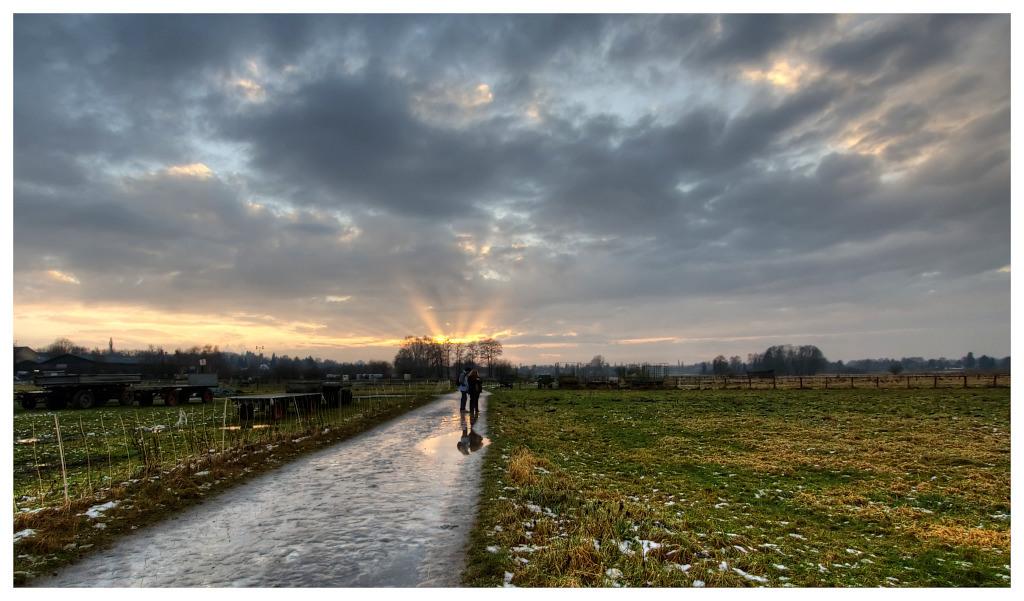 """фото """"The fingers of heaven"""" метки: пейзаж, облака"""