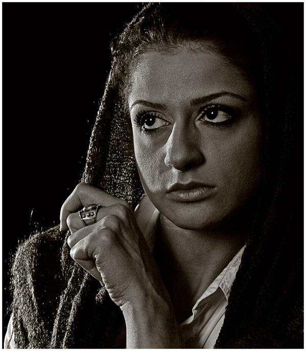 """фото """"Portrait"""" метки: портрет, черно-белые, женщина"""