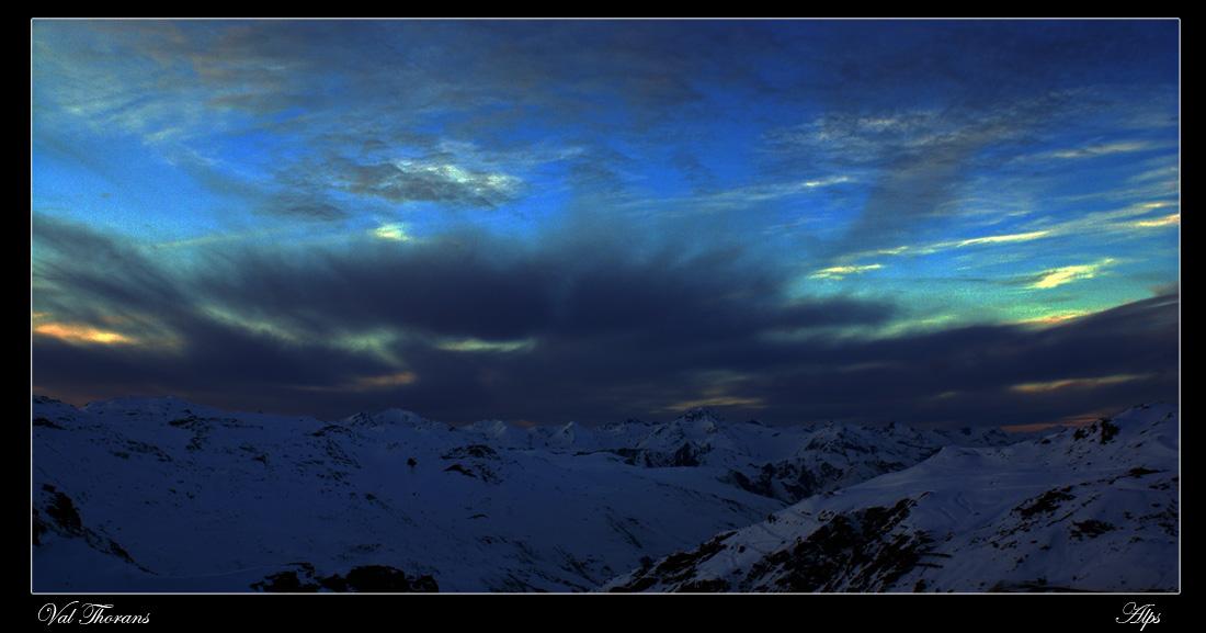 """фото """"Наступает..."""" метки: пейзаж, горы, облака"""