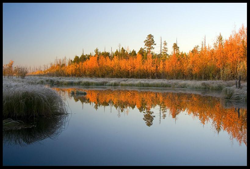 """фото """"Лазурная осень"""" метки: пейзаж, осень"""