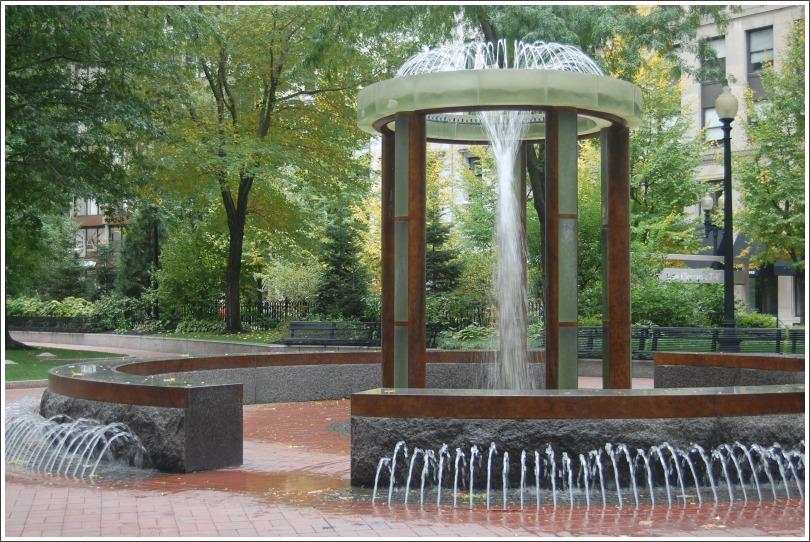 """фото """"фонтан на площади"""" метки: город,"""