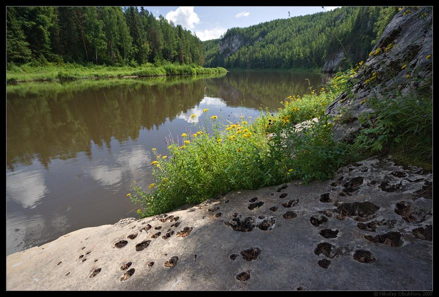"""фото """"Следы / 0174_0062"""" метки: путешествия, пейзаж, лето, скалы"""