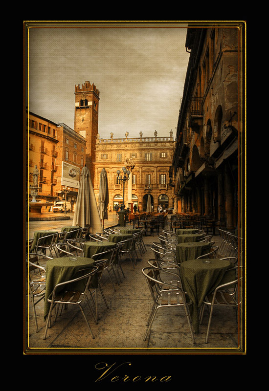 """фото """"Утро в Вероне"""" метки: путешествия, город, Европа"""