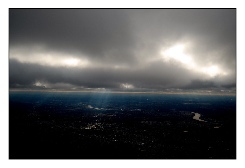 """photo """"Coming Home"""" tags: travel, landscape, North America, clouds"""