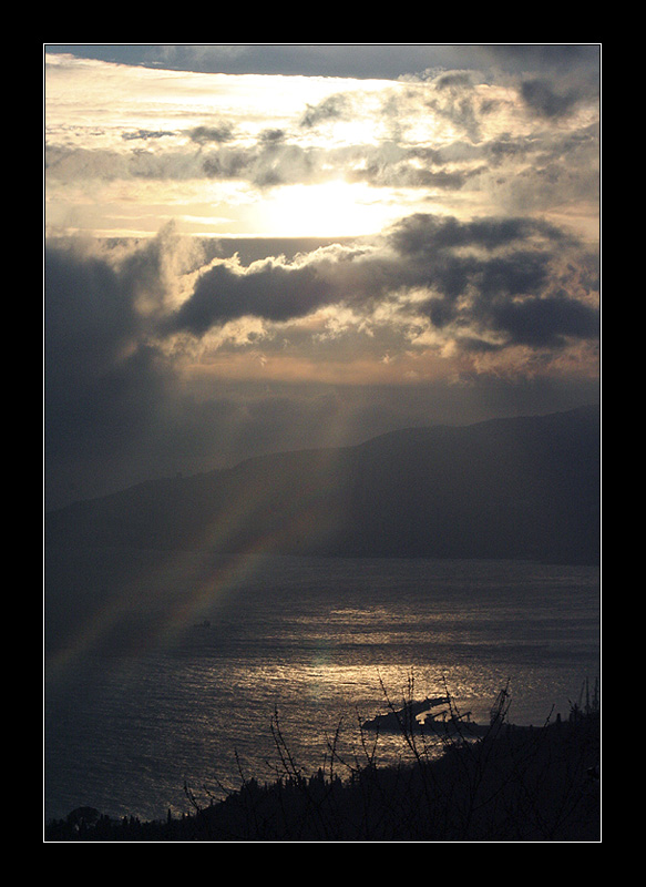 "фото ""* * * *"" метки: пейзаж, закат"