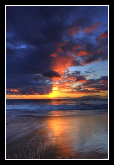"""фото """"Крест-накрест"""" метки: пейзаж, вода, закат"""