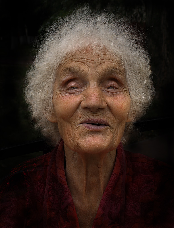 """фото """"А когда-то была красавицей!"""" метки: портрет, женщина"""