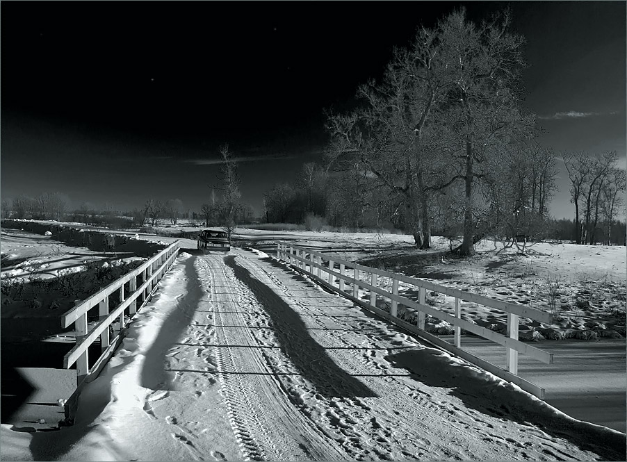 "photo ""Towards the North Star."" tags: landscape, winter"