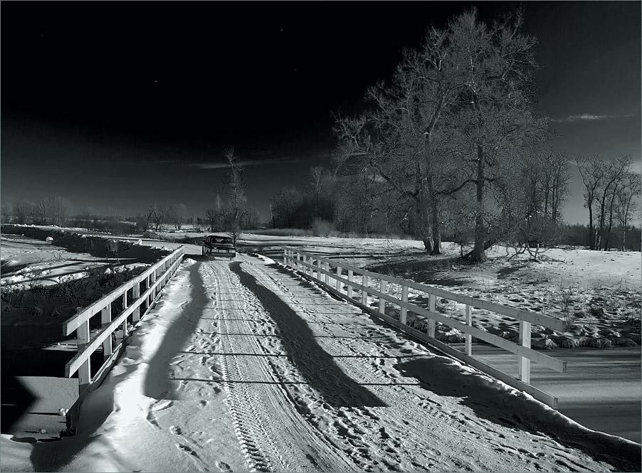 """фото """"К северной звезде."""" метки: пейзаж, зима"""