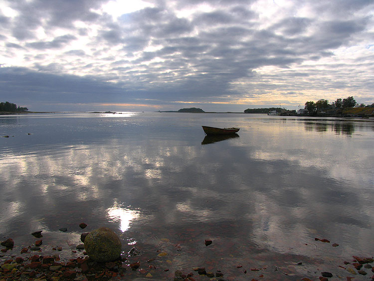 "фото ""На Белом море"" метки: пейзаж, вода"