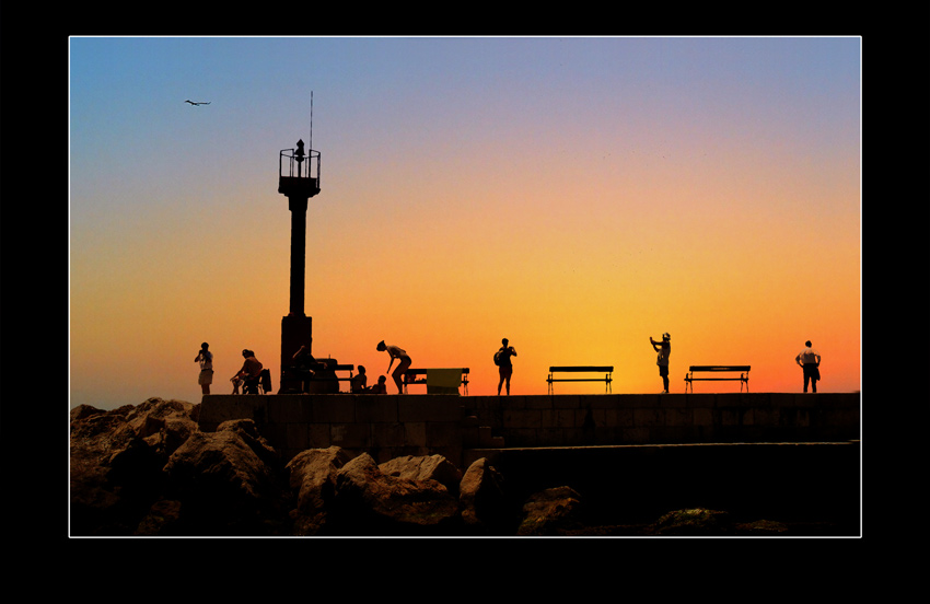 "photo ""Dubrovnik"" tags: landscape, travel, Europe, sunset"